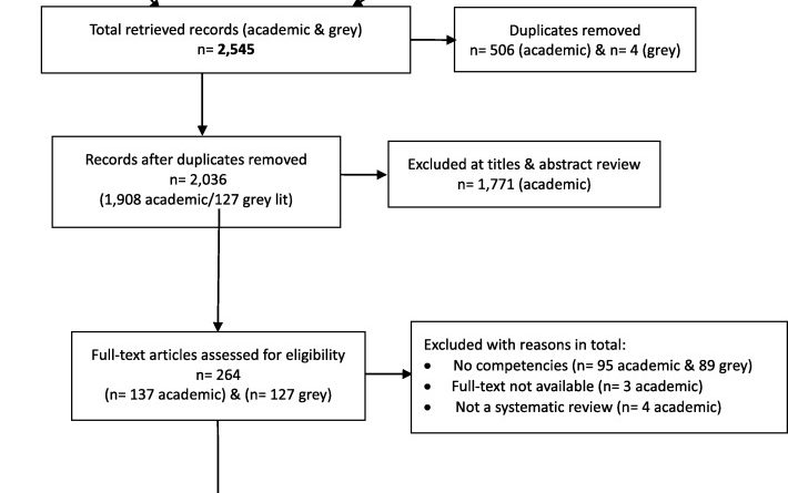 Patient-oriented research competencies in health (PORCH) for researchers, patients, healthcare providers, and decision-makers: results of a scoping review.